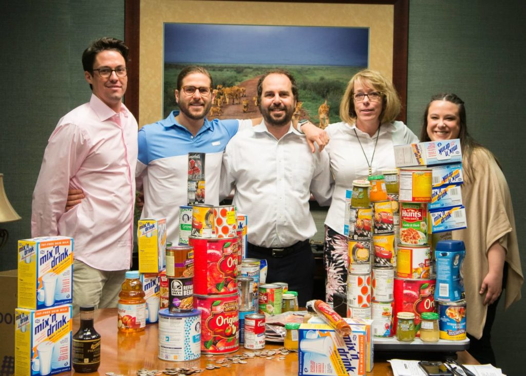 The Eichholz Law Firm Donates over 12,000 lbs. of food for the Georgia Legal Food Frenzy