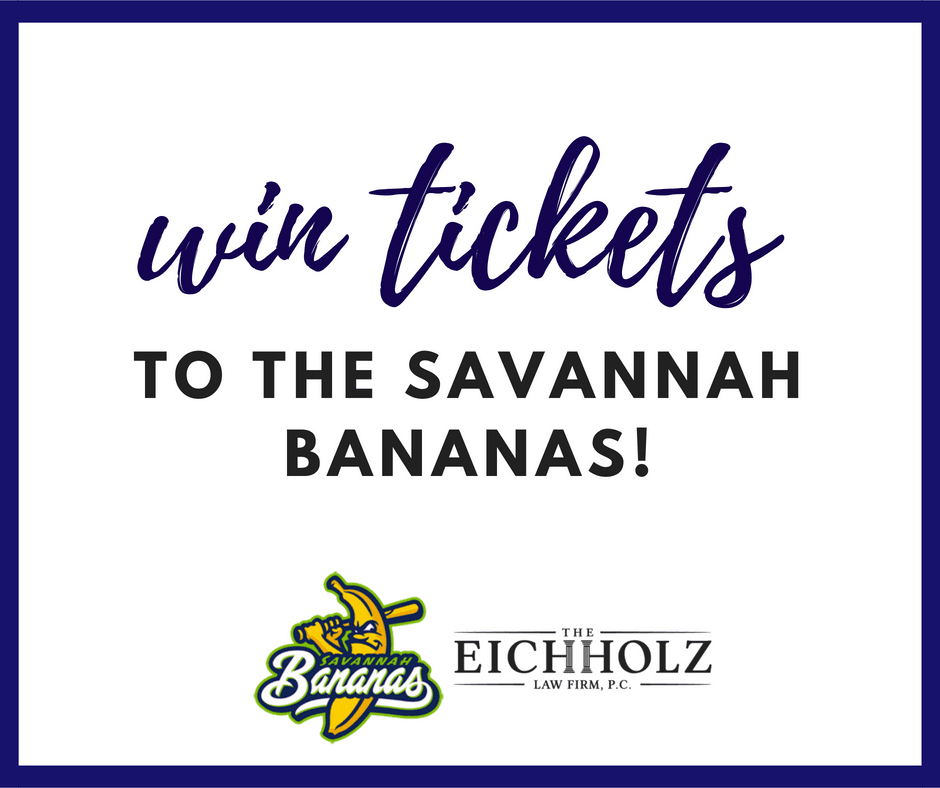 The Eichholz Law Firm Gives Away Tickets to The Savannah Bananas