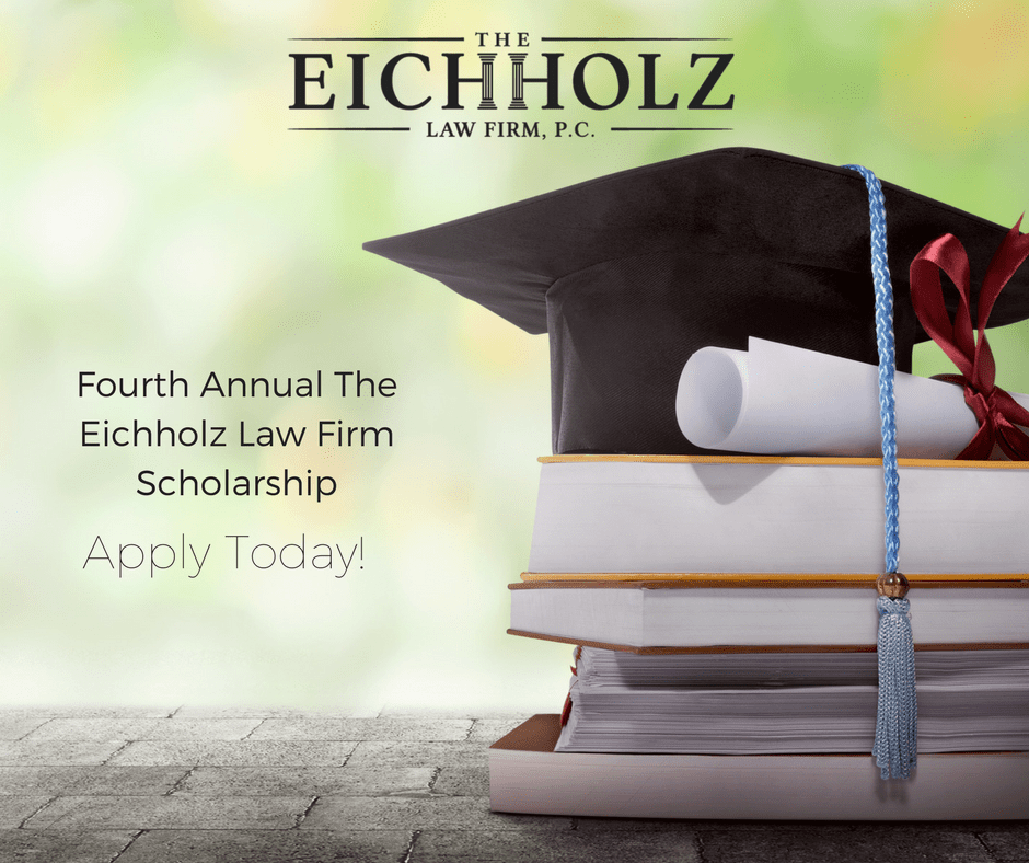 The Eichholz Law Firm Announces Fourth Annual Scholarship Award